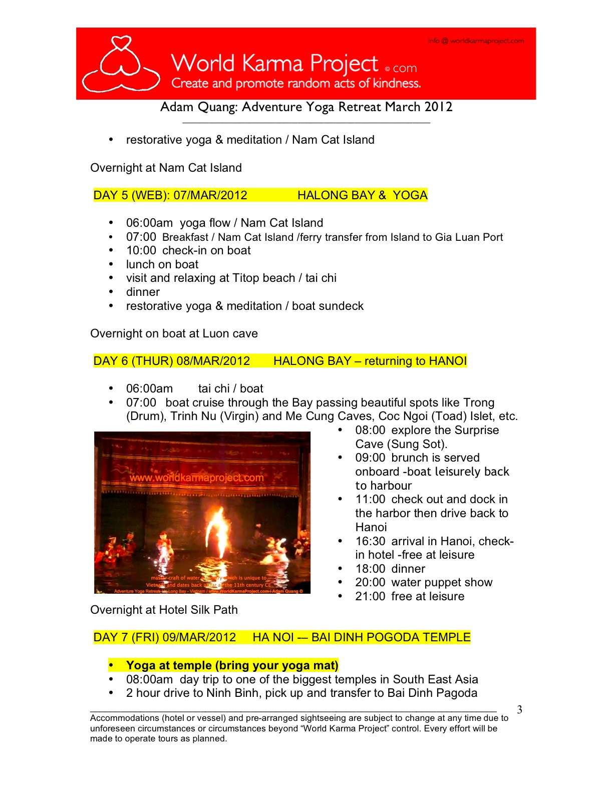 3-Adventure yoga retreat - Halong bay Tour itinerary -Mar_3-17_2012 -Edit JC
