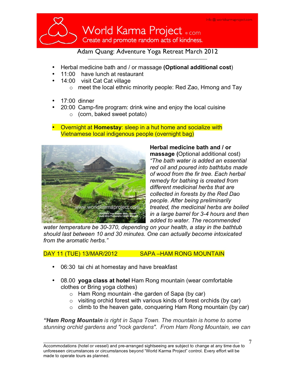 7-Adventure yoga retreat - Halong bay Tour itinerary -Mar_3-17_2012 -Edit JC