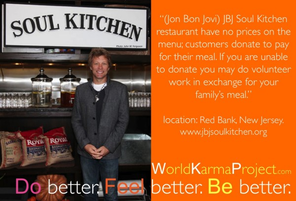 JBJ soul Kitchen | World Karma Project