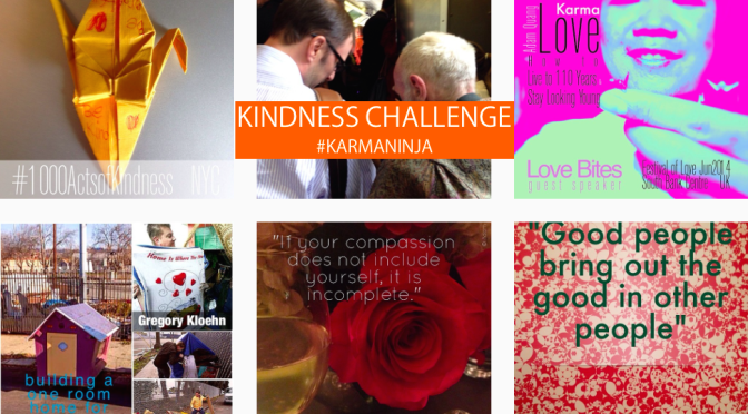 #KarmaNinja Challenge: Week 14