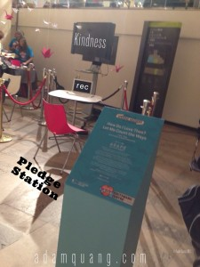 Pledge Station 1000Kindness Adam Quang UK