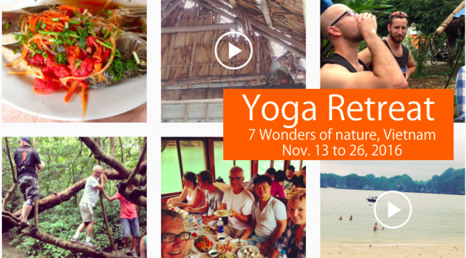 Adventure Yoga Retreat 2016