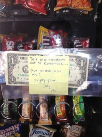 acts of kindness-vending machine